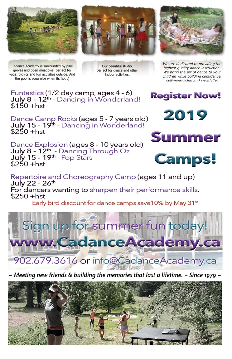 2019 Dance Camps
